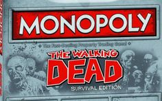 The Walking Dead Monopoly Game coming soon!