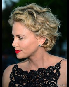 Short Wavy Haircuts, Short Curly Hairstyles For Women, Curly Hair Styles, Haircuts For Fine Hair, Curly Hair Cuts, Short Hair Cuts For Women, Pretty Hairstyles, Shag Hairstyles, Hairstyle Short