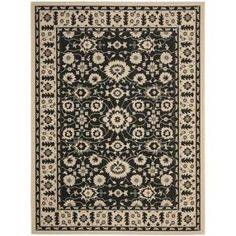 Safavieh Courtyard Blake Power-Loomed Indoor/Outdoor Area Rug, White
