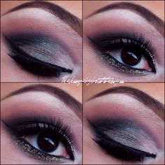 The Perfect Fall Smokey Eye look Instagram.com/makeupbybrittanym makeup by Brittany Martin
