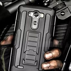 Each 3D Armor LG Phone Cover order comes with 2 different cell phone covers for convenient and alternate use. Shock-absorbing Hard Shell Silicone Plastic Exter