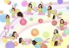 Pohádka o zvědavém větříku Crafts For Kids, Preschool, Classroom, Kids Rugs, Workout, Sport, Health, Gymnastics For Kids, Young Girl Fashion