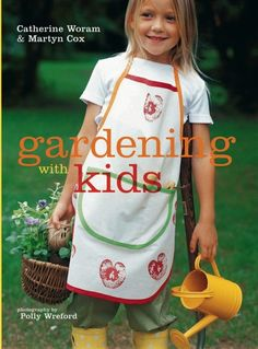 If you have a little helper in the garden, why not treat them to their own set of tools and a project book! - Gardening with Kids - Ryland Peters & Small and CICO Books