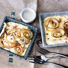 Zwiebelpfännchen mit Speck Rezept | Küchengötter