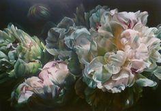 Marcella Kaspar_A Glimpse at Acrylic Flowers, Watercolor Flowers, Beautiful Flower Arrangements, Beautiful Flowers, Flora Botanica, Art Base, Beauty Art, Watercolor Illustration, Colorful Flowers