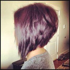 Inverted bob hairstyle:   Hair we are!   Pinterest   Einfache Frisuren