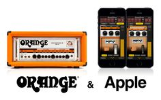 Another cool AmpliTube Amp app from IK Multimedia. Orange goes well with Apple! :)