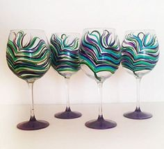 Peacock Wine Glasses Hungry & Buzzed http://www.amazon.com/dp/B00Y28AXRG/ref=cm_sw_r_pi_dp_O34yvb17H8B7J