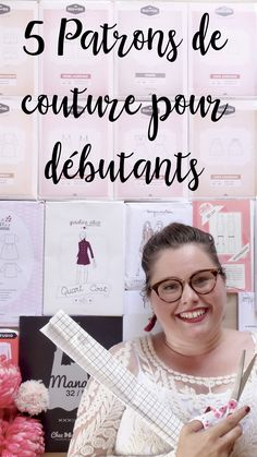 **** 5 patrons couture pour débutantes ET grandes tailles **** – Elodie BLUEB… Coin Couture, Couture Sewing, Girl Dress Patterns, Sewing Patterns, Skirt Patterns, Blouse Patterns, Dress Tutorials, Couture Tops, Pattern Drafting