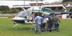 Helicóptero da Polícia Militar transfere paciente para Hospital em Londrina - http://projac.com.br/noticias/helicoptero-policia-militar-transfere-paciente-hospital-londrina.html