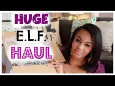 HUGE E.L.F. Haul|2015 - YouTube