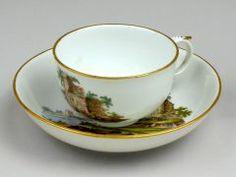 Cup and Saucer FULDA PORCELAIN FACTORY (GERMAN, 1741–1790) C. 1770-1780