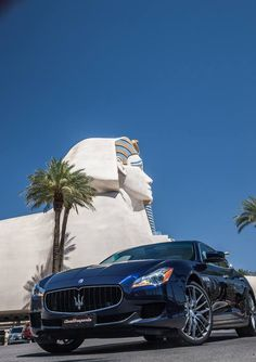 #Maserati #Quattroporte w Las Vegas