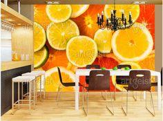 Les fruits se présenteront parfaitement aussi sur papier peint #papiers peints #papier peint #wallpaper #home #decor #décorations #fruits