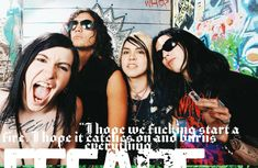 Escape The Fate, Ronnie Radke, Bands, Green, Movies, Movie Posters, Film Poster, Films, Popcorn Posters
