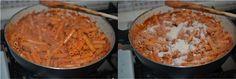 Pasta salsiccia e mozzarella al forno,un primo piatto semplice e saporito,adatto per il pranzo della domenica e non.Ricetta gustosa