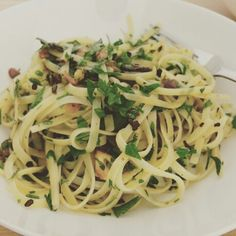 Aglio Olio Aglio Olio, Spaghetti, Ethnic Recipes, Food, Essen, Meals, Yemek, Noodle, Eten