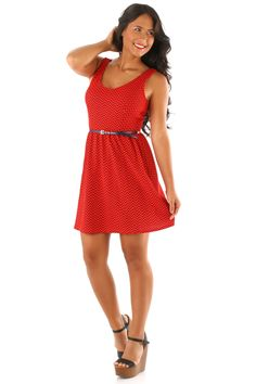Promise To Love You Dress: Red/Navy.....save 10% and enjoy FREE shipping by using code CSMITHREP