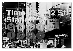 'Subway City Art NYC II' by Philippe Hugonnard Photographic Print on Wrapped Canvas