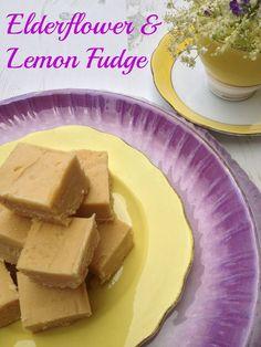 Me and my shadow: Elderflower and Lemon Fudge