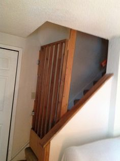 Autism safety gate for stairs