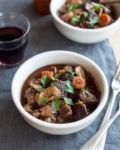Recipe: Slow-Cooked Boeuf Bourguignon