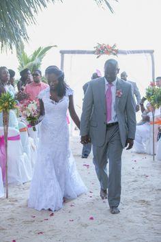 Real Weddings {Belize}: Nadine & Umar! - Blackbride.com wedding day captured by Michelle White Photography!