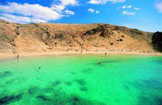 Playa de Papagayo, Lanzarote - îles Canaries (Espagne)