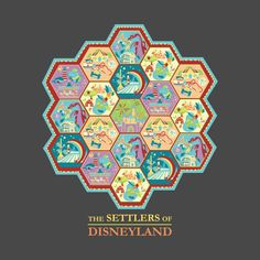 Check out this awesome 'The+Settlers+of+Disneyland' design on @TeePublic!