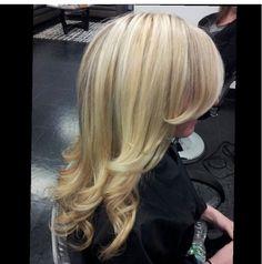 Blonde hair! Highlights