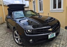 Alex Ekubo Gifts Himself Camaro Chevrolet (Photo) - http://www.77evenbusiness.com/alex-ekubo-gifts-himself-camaro-chevrolet-photo/