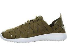 Nike Women's Juvenate Woven Olive Flak/Black White Casual Shoe 6.5 Women US