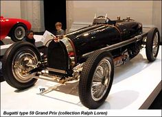 Beautiful open wheel racing car.  These could fly during their time.  Beautiful Bugatti Type 59 Grand Prix.