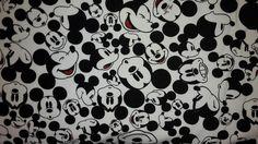 Kinderstoffe - Jersey Disney Mickey Mouse - ein Designerstück von JOLEA-Neumaier bei DaWanda