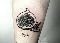 Výsledek obrázku pro fig tattoo