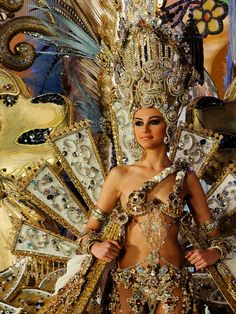 Election of Tenerife Carnival Queen 2012