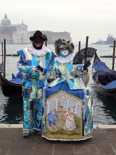 Piccolo Teatro.  Venice Carnival 2015 by Lesley McGibbon
