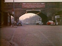 Prince of Wales road 1965 Camden London, Camden Town, North London, Old London, West London, London History, London Transport, Croydon, Vintage London