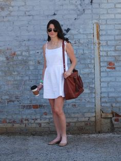 """Stripe Strappy"" // www.hallwaysaremyrunways.com // #gap // #coach // #sweetandspark // #rayban // #timex // #styleblog // #summerstyle"