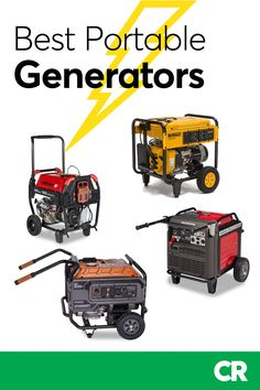 Best Portable Generators From Consumer Reports' Tests Camping Survival, Emergency Preparedness, Survival Skills, Rv Camping, Backpacking, Best Portable Generator, Orlando, Remodeled Campers, Rv Travel