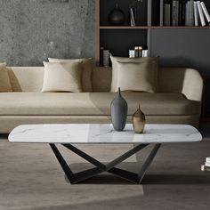 Modern Lounge Rooms, Modern Coffee Tables, Brighton, Marble, Base, Metal, December, Furniture, Home Decor
