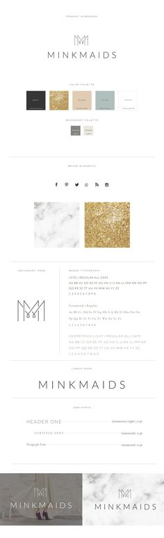 like color palette minus the glittery gold and the font   The logo design is simple and clean