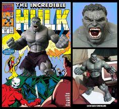 Grey Hulk (Incredible Hulk) Custom Action Figure [The 13]
