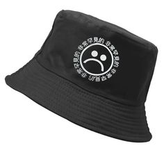 Funny Club Unisex Bucket Hat Sun Cap Different Sizes Geometric Circles As Red Blood for Men Women