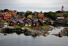 The little village at Landsort Island in the outer Stockholm archipelago…