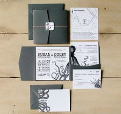 DIY invitations by Susan Payne