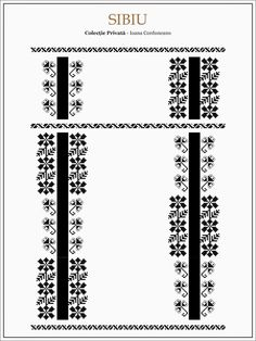 Semnele cusute - Un alfabet care vorbeste despre noi Folk Embroidery, Learn Embroidery, Hand Embroidery Designs, Embroidery Patterns, Cross Stitch Patterns, Beading Patterns, Palestinian Embroidery, Romania, Moldova