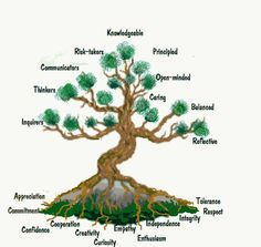 Attitudes are the roots of the profile tree!