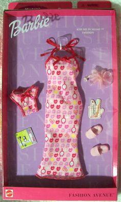 Fashion Avenue Barbie 2000 28132 Metro Kiss Me in Miami NRFB   eBay