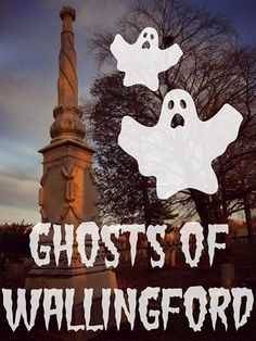 Ghosts of Wallingford  Thursday, October 30th at 6:30 p.m. in the Library Community Room.  Our town has a history of paranormal phenomena, occult manifestations, and ghostly happenings. Hear stories of ghosts and ghostly sightings, haunted places, and the supernatural intrigues of Wallingford. Presented by Colleen O'Connor, Tour Manager for Wallingford Ghost Tours.  Seating is limited. Doors open at 6:00 p.m.